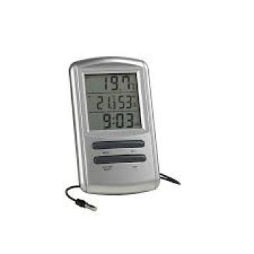 Termometru digital cu alarma ceas