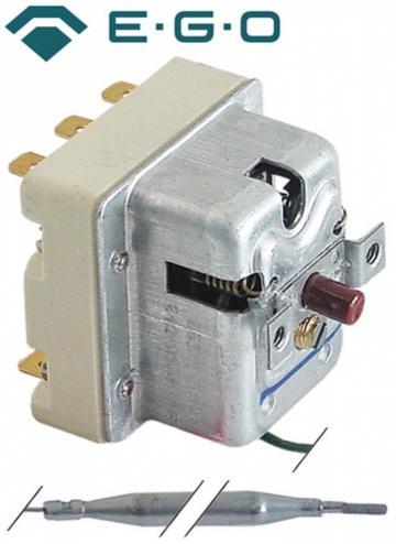 Termostat de siguranta 240C, 3 poli, 20A, bulb 6mmx87m
