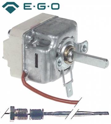 Termostat reglabil 100-185C, 1NO, 16A, M9x1