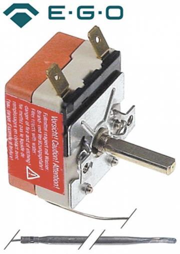 Termostat reglabil 100-400*C, 1NO, 16A, bulb 3.9mmx163mm de la Kalva Solutions Srl