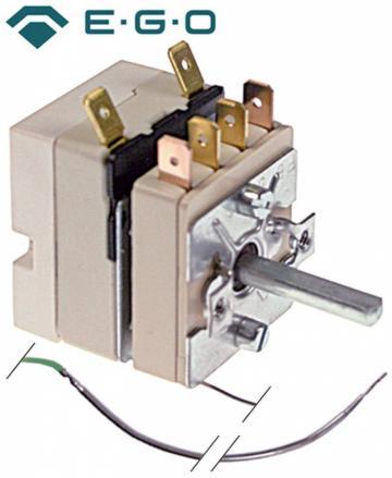 Termostat reglabil 30-105C, 1NO, 16A