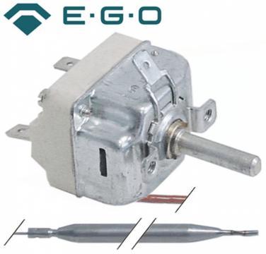 Termostat reglabil 33-110C, 1CO, 16A, bulb 6mmx138mm