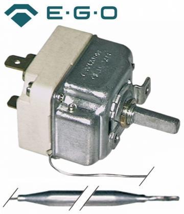 Termostat reglabil 50-300C, 1NO, 16A, bulb 6mmx74mm