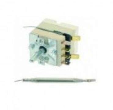 Termostat reglabil 100-180C, 1NO, 16A, bulb 6mmx133mm