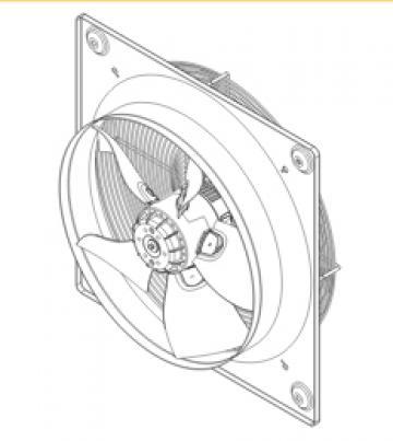 Ventilator axial HXBR/6-710 de la Ventdepot Srl