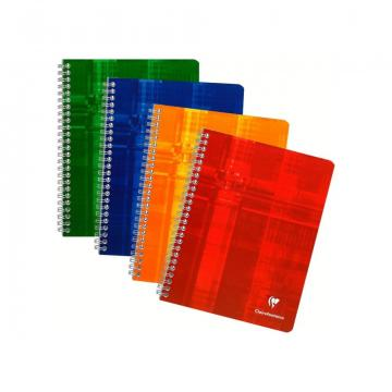 Caiet cu spirala Metric Clairefontaine, 112 file