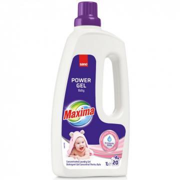 Detergent de rufe Sano Maxima Power Gel Baby (20sp) 1 litru