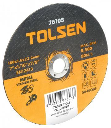 Disc plat de taiere (metal si otel inoxidabil) 180x1.6x22mm de la Micul Gospodar