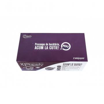 Prosoape hartie bucatarie 2 straturi, 160 bucati/cutie de la Sanito Distribution Srl