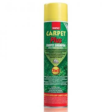Detergent covoare Sano Carpet Plus 2in1, 600 ml