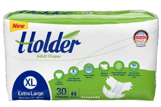 Scutece adulti Holder, Marimea XL - XLarge, 90 buc/set