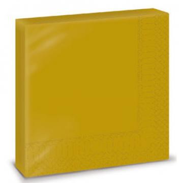 Servetele 33x33 cm, 2 straturi, Smart Table Gold, Fato