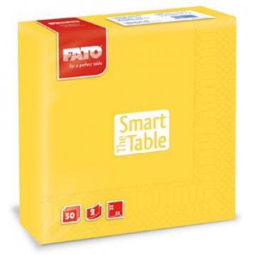 Servetele 33x33 cm, 2 straturi, Smart Table Lemon, Fato de la Sanito Distribution Srl