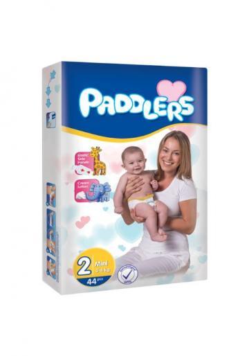 Scutece copii Paddlers, Marime 2, 80 buc/set, Mini, 3-6 kg de la Europe One Dream Trend Srl