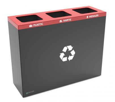 Cos reciclare, colectare selectiva deseuri, cosuri gunoi eco de la Bins Factory
