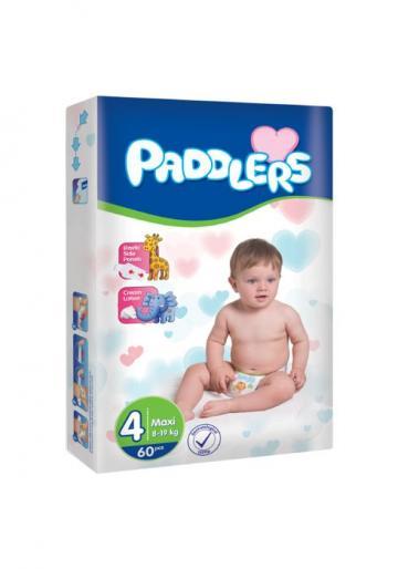 Scutece copii Paddlers, marime 4, Maxi, 60 buc/set, 8-18 kg de la Europe One Dream Trend Srl