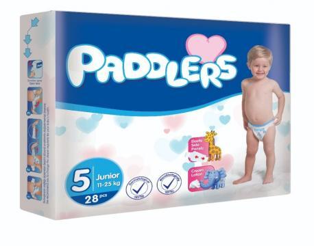 Scutece copii Paddlers, Marime5, Junior, 52 buc/set, 11-25kg de la Europe One Dream Trend Srl