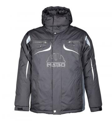 Jacheta de iarna Philip negru gri de la Mabo Invest