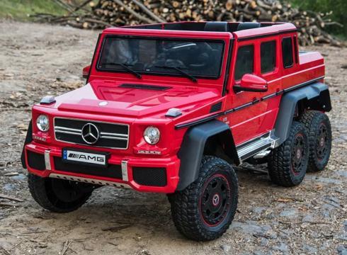Jucarie masinuta electrica Mercedes G63 6x6 Premium 180W