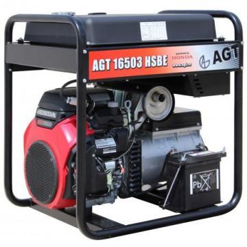 Generator de curent trifazat cu motor Honda AGT 16503 HSBE