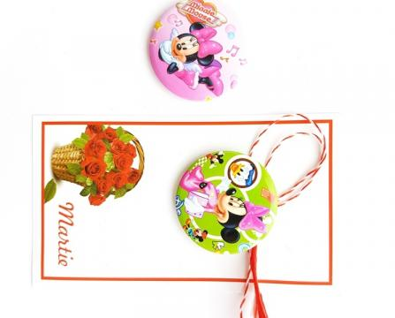 Martisor insigna Minnie (AI04-AT11) de la Eos Srl (www.martisoare-shop.ro)