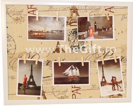 Album foto de perete Paris, cu clestisori