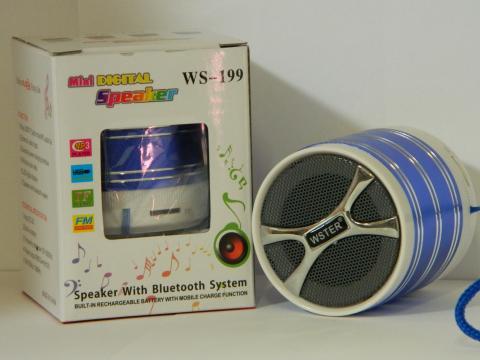 Radio Bluetooth MP3 Mini boxa portabila Wster WS-199