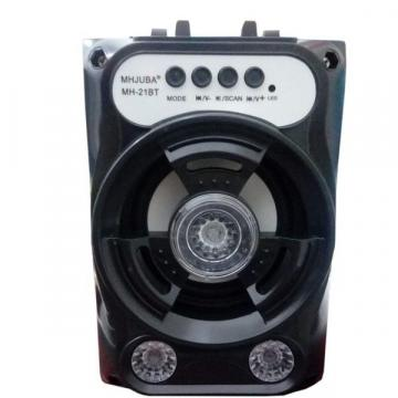 Boxa portabila cu Bluetooth iluminata LED cu Radio FM de la Www.oferteshop.ro - Cadouri Online