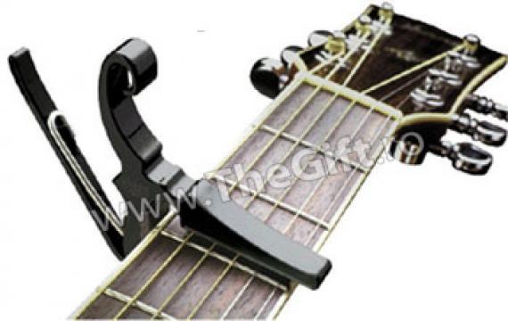 Capodastru pentru chitara acustica sau electrica