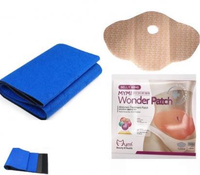 Centura pentru slabit + 5 plasturi de slabit de la Preturi Rezonabile