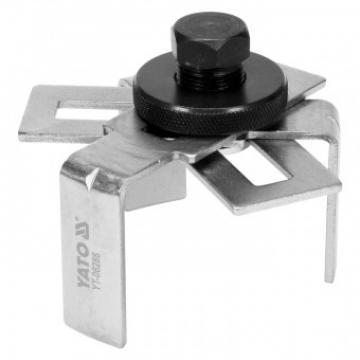 Cheie filtru ulei 3 brate 75-160mm, Yato YT-06288