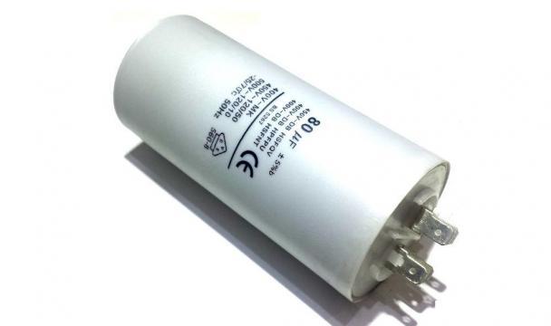 Condensator 80 F 450VAC de la Kalva Solutions Srl