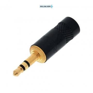 Conector Jack Tata 3.5 mm cu 3 poli Rean NYS231BG de la Sc Rolling Serv Srl