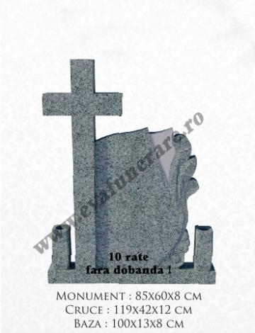 Cruce funerara granit Melc + Cruce de la Casa Funerara Eva Srl