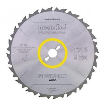 Disc circular Metabo Power Cut Wood 450x3.5x30 de la Tehno Center Int Srl