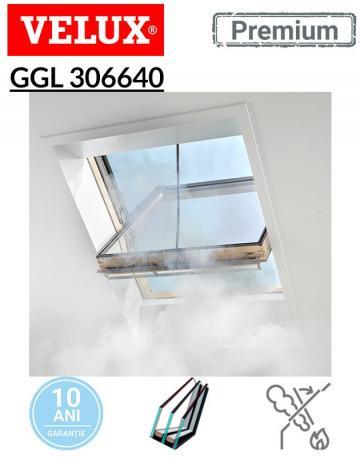 Fereastra pentru evacuarea fumului Velux GGL 306640 de la Deposib Expert