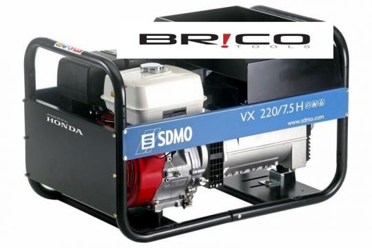 Generator curent - sudura SDMO VX 220/7.5 H de la It Republic Srl