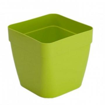 Ghiveci plastic Strend Pro ICS Pandora 18x15 cm, verde