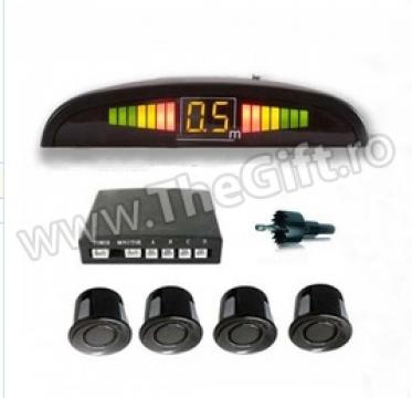 Senzori de parcare cu display LED