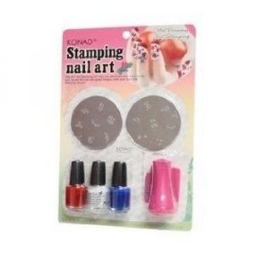 Kit stampile pentru decorarea unghiilor nail art cu oja