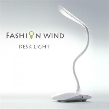 Lampa de birou reglabila cu senzor tactil si USB Fashion