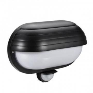 Lampa de perete 60W, cu senzor, culoare neagra, URZ0803 de la Viva Metal Decor Srl
