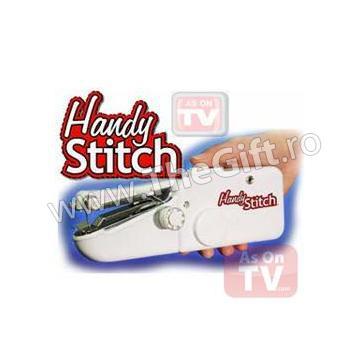 Masina de cusut portabila, fara fir Handy Stitch