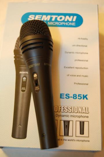 Microfon unidirectional profesional dinamic Semtoni ES-85K