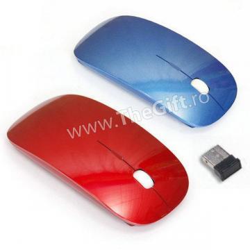 Mouse wireless 2.4GHz ultra subtire de la Thegift.ro - Cadouri Online