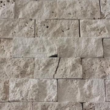 Mozaic Travertin Clasic Crem Scapitat 5 x 2,5 x 2 de la Somes Srl