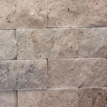 Mozaic Travertin Rustic Scapitat 10x5x cm