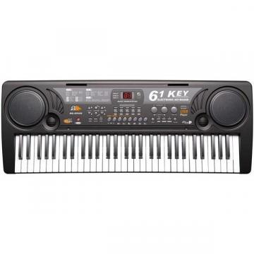 Orga electronica 61 de clape MQ-809 cu microfon si citire