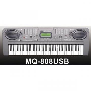 Orga electronica cu 54 clape MQ-808USB cu microfon si citire