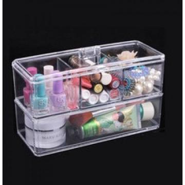 Cutie cosmetice sau bijuterii din acril transparent